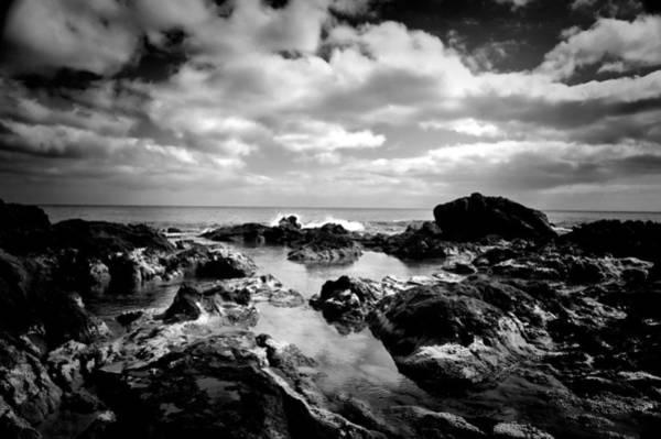Photograph - Black Rocks 1 by Joseph Amaral
