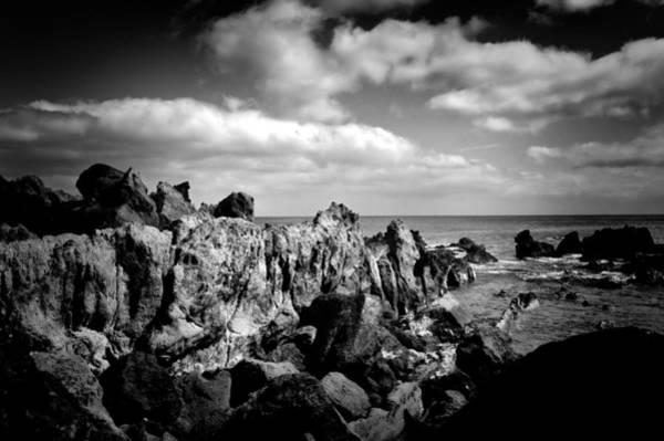 Photograph - Black Rocks 3 by Joseph Amaral