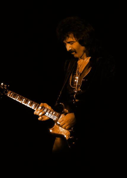 Photograph - Black Sabbath #13 Enhanced In Amber by Ben Upham