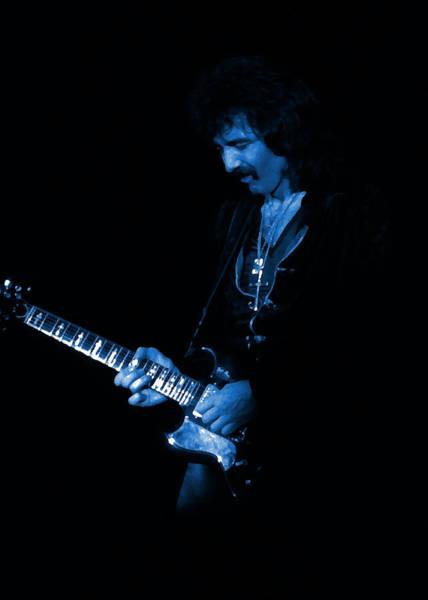 Photograph - Black Sabbath #13 Enhanced In Blue by Ben Upham