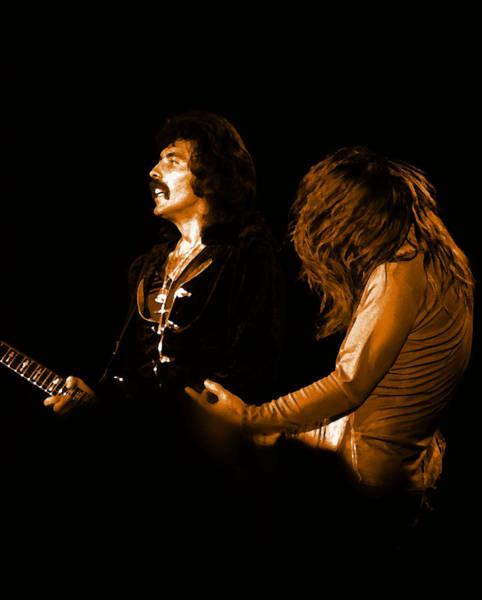 Photograph - Black Sabbath #16 Enhanced In Amber by Ben Upham