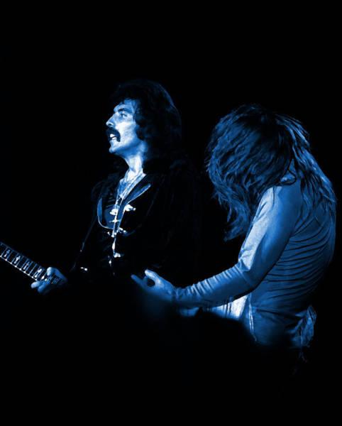 Photograph - Black Sabbath #16 Enhanced In Blue by Ben Upham