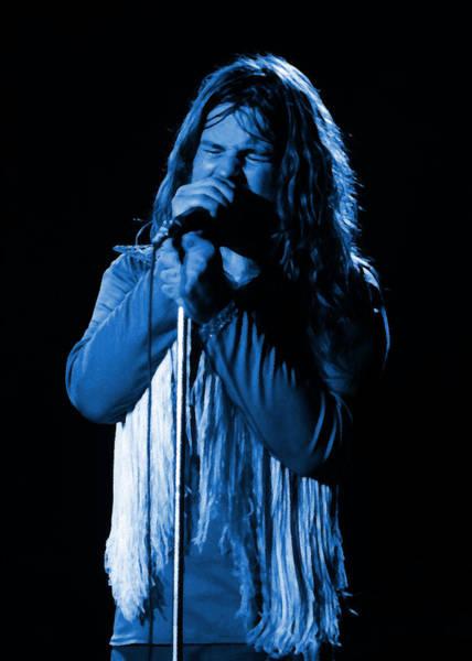 Photograph - Black Sabbath #23 Enhanced In Blue by Ben Upham