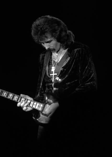 Photograph - Black Sabbath #24 Enhanced Bw by Ben Upham