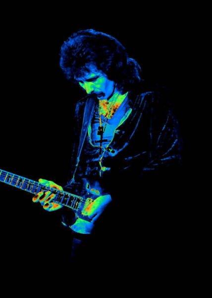 Photograph - Black Sabbath #24 Enhanced In Cosmicolors 2 by Ben Upham