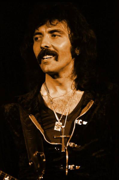 Photograph - Black Sabbath #27 Enhanced In Amber by Ben Upham