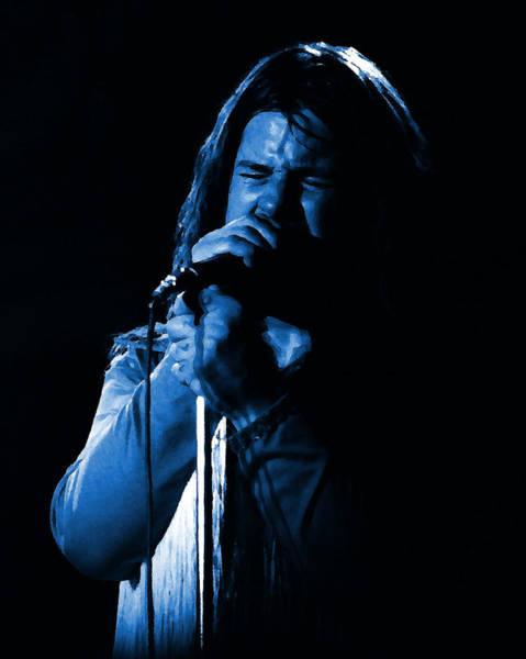 Photograph - Black Sabbath #29 Enhanced In Blue by Ben Upham