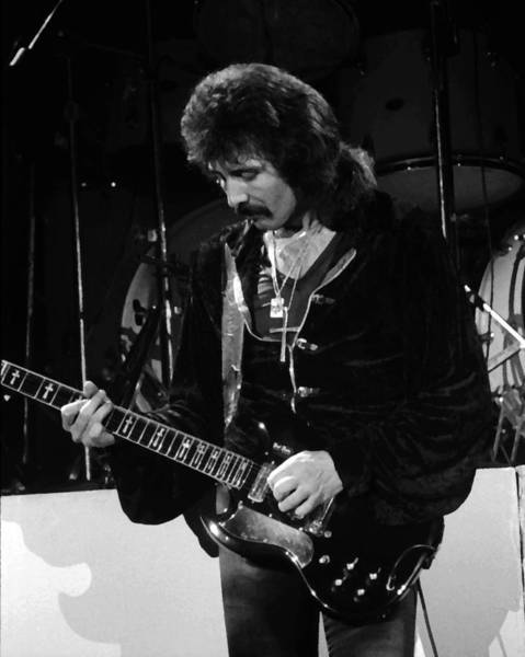 Photograph - Black Sabbath #33 Enhanced Bw by Ben Upham