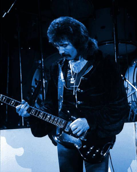 Photograph - Black Sabbath #33 Enhanced In Blue by Ben Upham