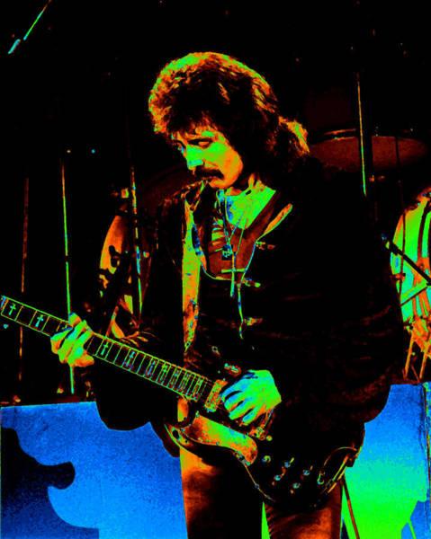 Photograph - Black Sabbath #33 Enhanced In Cosmicolors 2 by Ben Upham