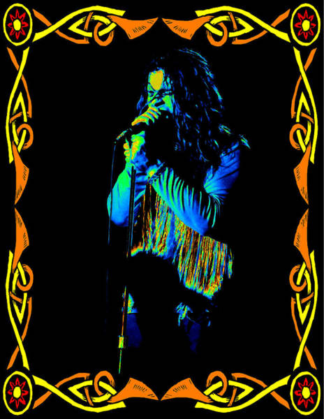 Photograph - Black Sabbath #39 Enhanced In Cosmicolors In A Frame by Ben Upham