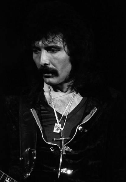 Photograph - Black Sabbath #45 Enhanced Bw by Ben Upham