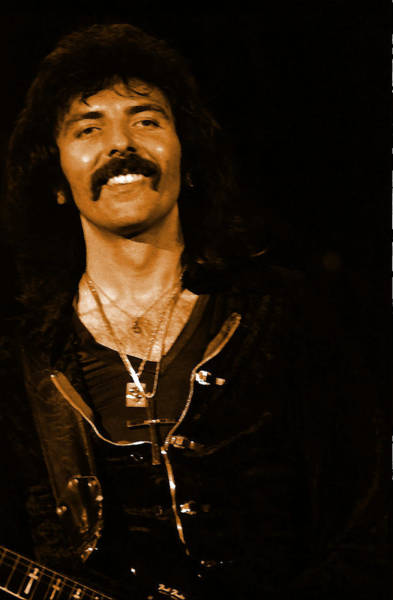 Photograph - Black Sabbath #46 Enhanced In Amber by Ben Upham