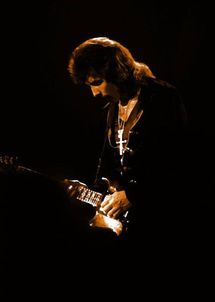 Photograph - Black Sabbath #47 Enhanced In Amber by Ben Upham