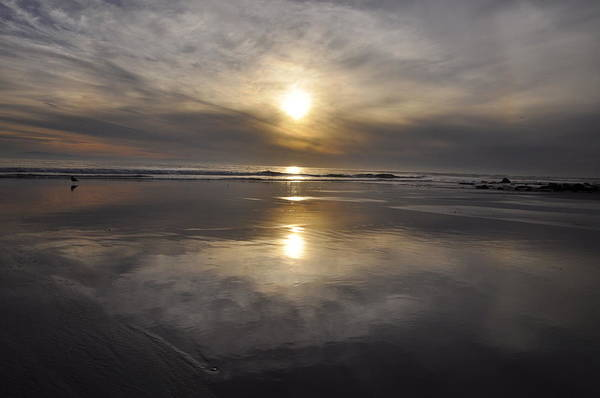 Photograph - Black Sunset by Gandz Photography