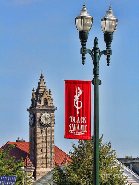 Courthouse Towers Wall Art - Photograph - Black Swamp Arts Festival by Jack Schultz