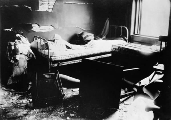 Photograph - Black Tom Explosion, 1916 by Granger