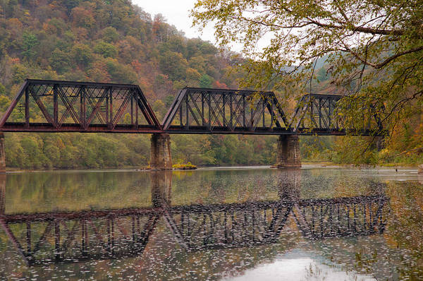 Lock Haven Wall Art - Photograph - Black Trestle by Scott Hafer