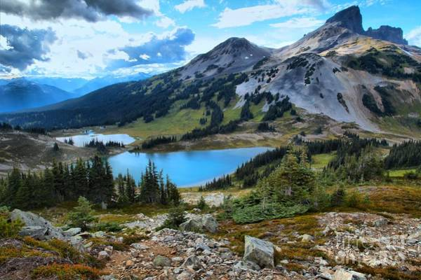 Photograph - Black Tusk And Mimulus Lakes by Adam Jewell