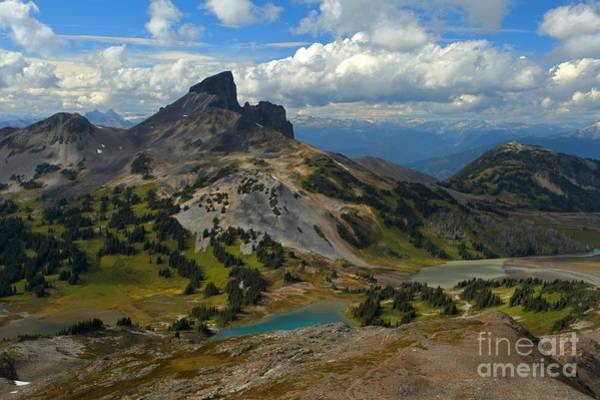 Photograph - Black Tusk Mountain Landscape by Adam Jewell
