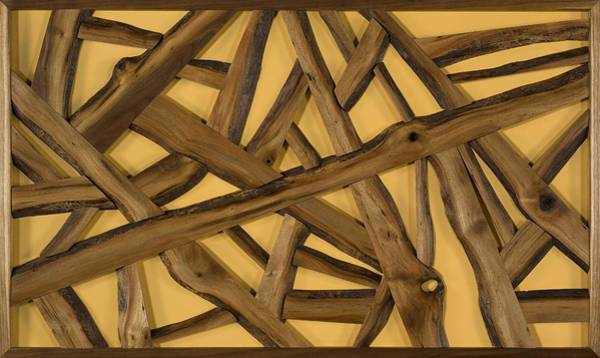 Walnut Mixed Media - Boise Walnut Scramble by Jack Thompson