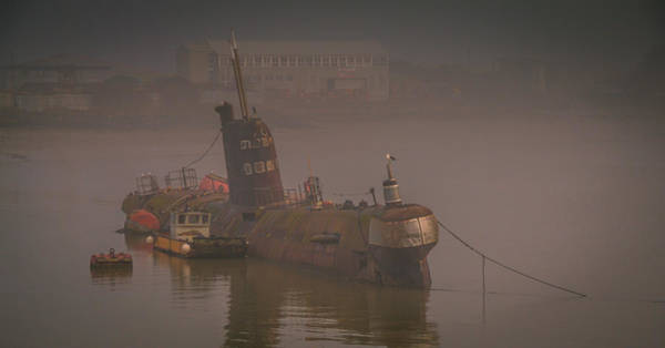 Medway Wall Art - Photograph - Black Widow Submarine by Dawn OConnor