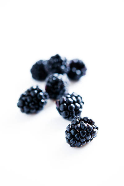 Blue Berry Photograph - Blackberries by Johner Images
