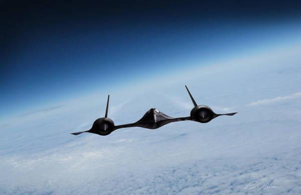 Supersonic Speed Wall Art - Digital Art - Blackbird I Am Legend by Peter Chilelli