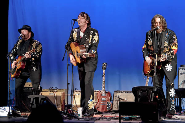 Folk Singer Photograph - Blackie And The Rodeo Kings by Randall Nyhof