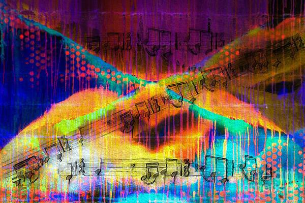 Digital Art - Blacklight Bagatelle by Lon Chaffin