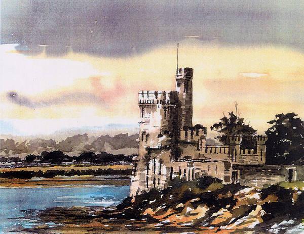 Painting - Blackrock Castle In Cork by Val Byrne
