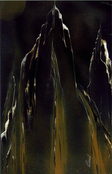 Painting - Blackslide by Jason Girard