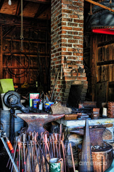 Farrier Photograph - Blacksmith - All The Tools by Paul Ward
