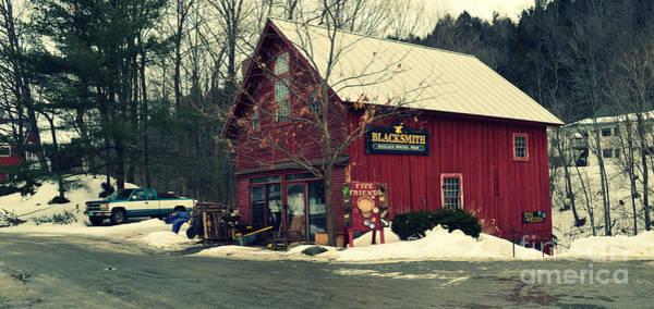 Paisaje Photograph - Blacksmith At Stowe Vermont by Patricia Awapara