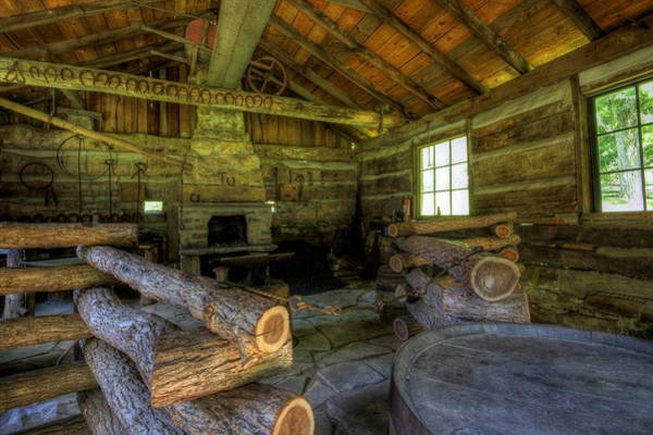 Photograph - Blacksmith Shop by David Dufresne