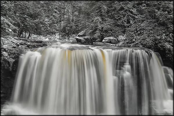 Photograph - Blackwater Winter by Erika Fawcett