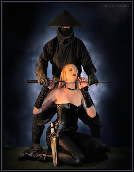 Photograph - Blade Of The Ninja by Jon Volden