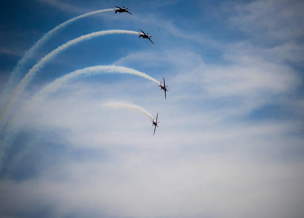 Photograph - Blades Formation Loop by Scott Lyons