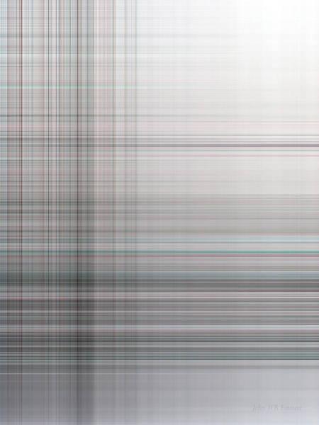 Digital Art - Blanc 4085 by John WR Emmett