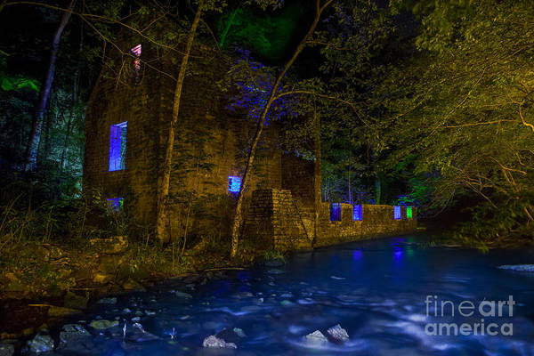Grist Mill Photograph - Blanchard's Mill by Keith Kapple