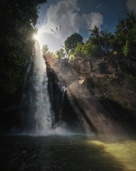 Water Fall Photograph - Blangsinga by Juan Pablo De
