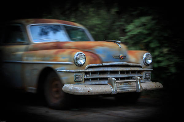 Clunker Wall Art - Photograph - Blast From The Past1950 Chrysler Windsor by Kathleen Scanlan