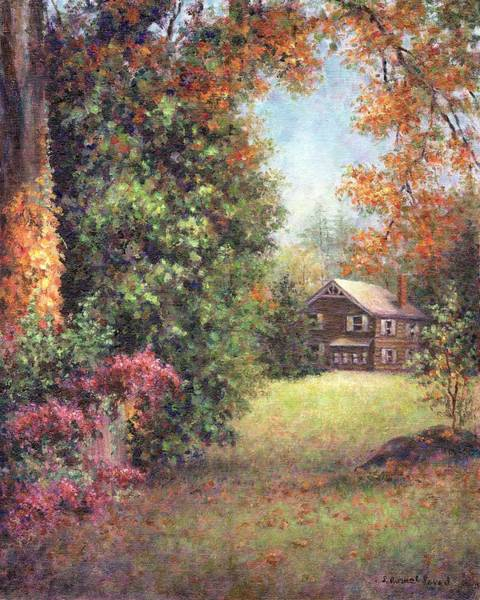 Painting - Blazing Ivy by Susan Savad