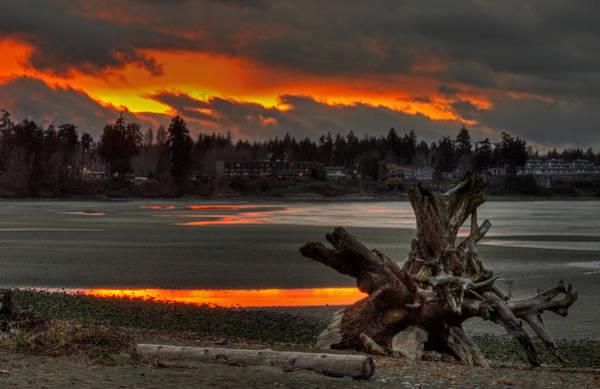 Photograph - Blazing Sunset II by Randy Hall