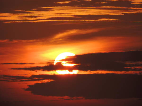 Photograph - Blazing Sunset by Kimberly Perry