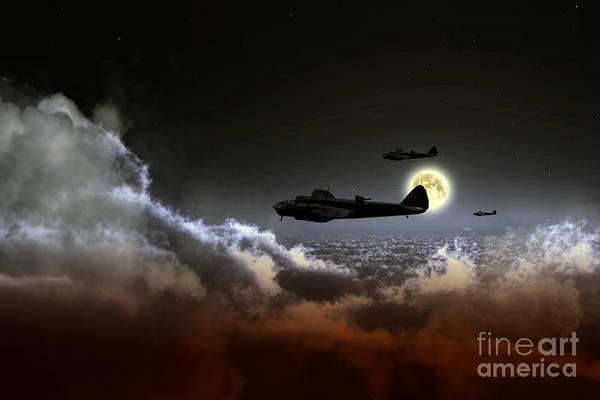 Blenheim Digital Art - Blenheim Nightfighters by J Biggadike