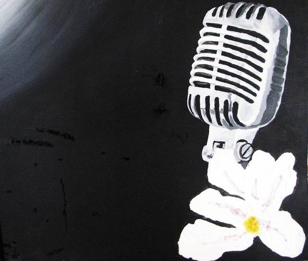 Wall Art - Painting - Bless The Mic by William Bryant