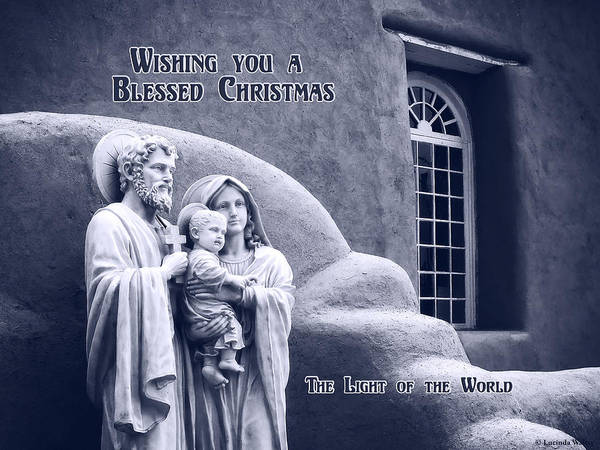 Photograph - Blessed Chirstmas by Lucinda Walter