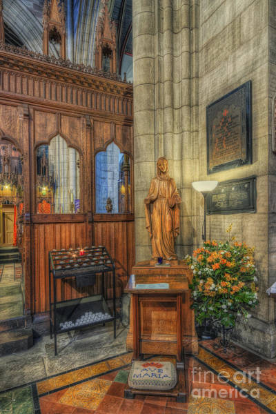 Photograph - Blessed Virgin Mary by Ian Mitchell