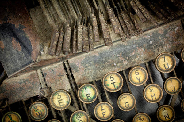 Photograph - Blick 90 Typewriter by John Magyar Photography